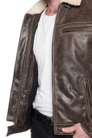 Buy the black arrow night hawk mens leather motorcycle jacket online at Moto Est. Australia 3