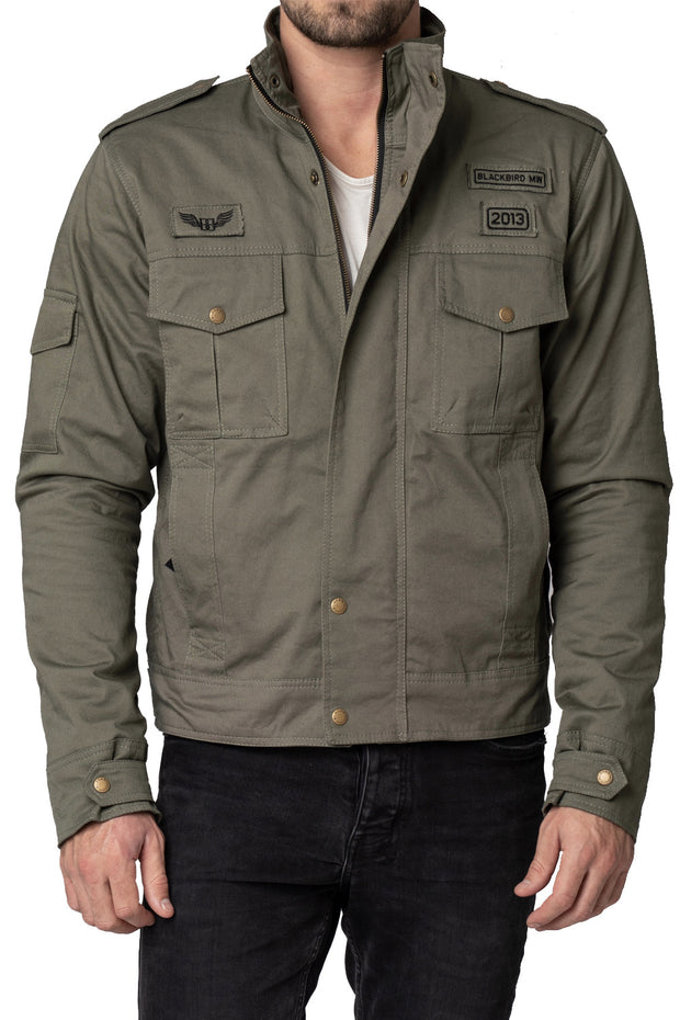 Blackbird Motorcycle Wear Black Hawk Men's Motorcycle Jacket online at Moto Est. Australia