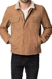 Blackbird Motorcycle Wear Byron Men's Nubuck Leather Motorcycle Jacket online at Moto Est. Australia