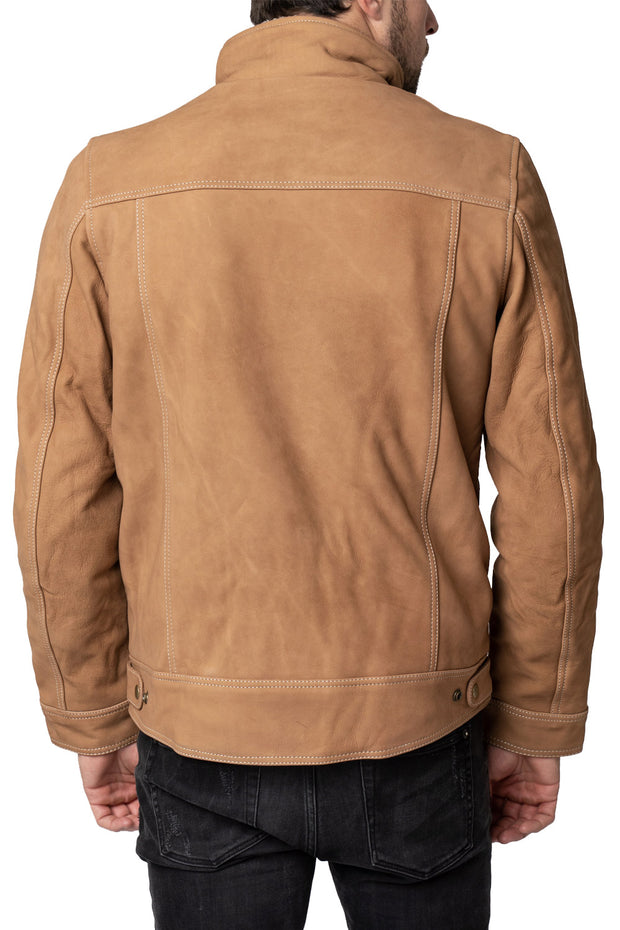 Buy the blackbird byron mens nubuck leather motorcycle jacket online at Moto Est. Australia