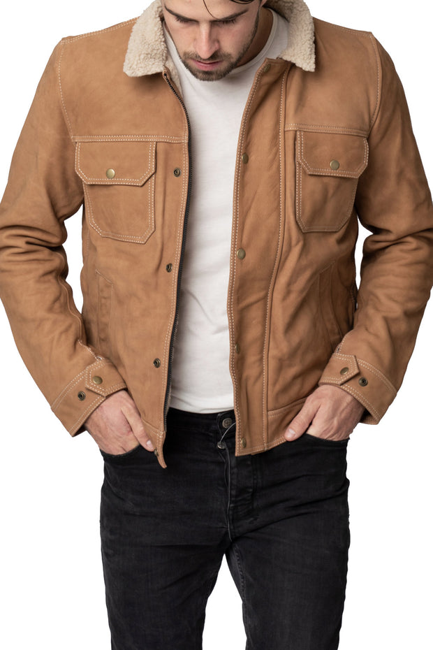 Buy the blackbird byron mens nubuck leather motorcycle jacket online at Moto Est. Australia 3
