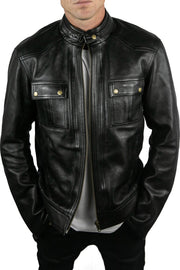 Blackbird Motorcycle Wear Duke Men's Leather Motorcycle Jacket online at Moto Est. Australia