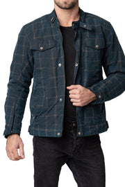 Buy the blackbird knockhill mens waxed cotton motorcycle jacket online at Moto Est. Australia 3