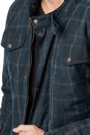 Buy the blackbird knockhill mens waxed cotton motorcycle jacket online at Moto Est. Australia 5