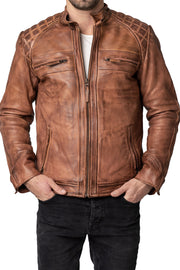 Blackbird Motorcycle Wear Pembrey Men's Leather Motorcycle Jacket online at Moto Est. Australia
