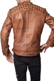 Buy the blackbird pembrey mens leather motorcycle jacket online at Moto Est. Australia
