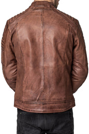 Buy the blackbird wakefield mens leather motorcycle jacket online at Moto Est. Australia