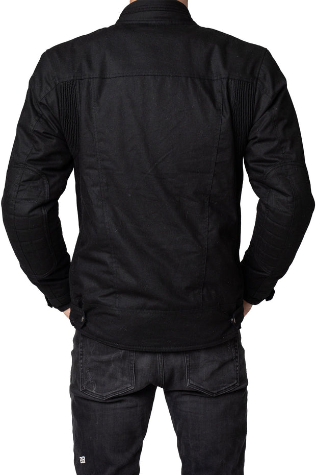 Buy the blackbird winton mens waxed cotton motorcycle jacket online at Moto Est. Australia