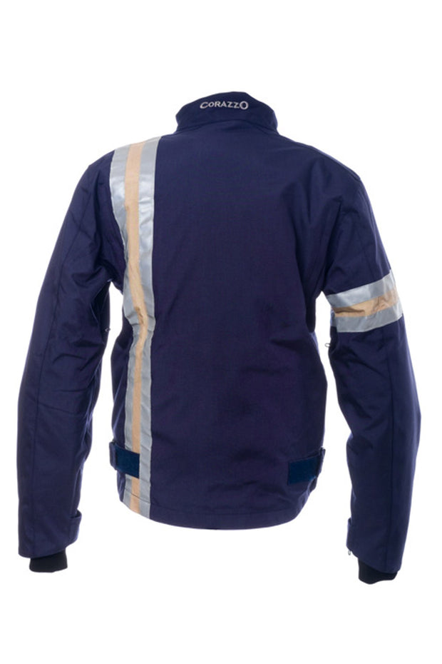 Buy the corazzo mens 6 0 motorcycle jacket blue online at Moto Est. Australia
