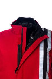 Buy the corazzo mens 6 0 motorcycle jacket red online at Moto Est. Australia 4
