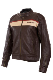 Corazzo Design Men's Corso Leather Motorcycle Jacket online at Moto Est. Australia