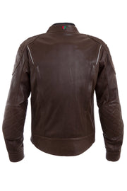 Buy the corazzo mens corso leather motorcycle jacket online at Moto Est. Australia