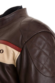 Buy the corazzo mens corso leather motorcycle jacket online at Moto Est. Australia 3