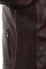 Buy the corazzo mens corso leather motorcycle jacket online at Moto Est. Australia 4