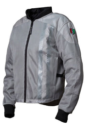 Corazzo Design Ventata Men's Motorcycle Jacket in Silver online at Moto Est. Australia
