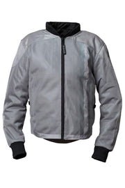 Buy the corazzo ventata mens motorcycle jacket silver online at Moto Est. Australia