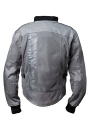 Buy the corazzo ventata mens motorcycle jacket silver online at Moto Est. Australia 3