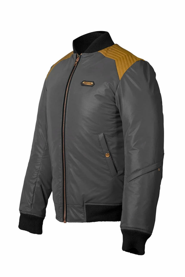 Buy the hedon mirage mens reflective motorcycle jacket stable black online at Moto Est. Australia 3