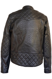 Liberta Moto Gear Men's Sugar Glider Black Leather Motorcycle Jacket 4