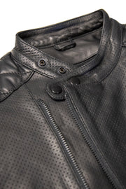 Liberta Moto Gear Men's Sugar Glider Black Leather Motorcycle Jacket 5