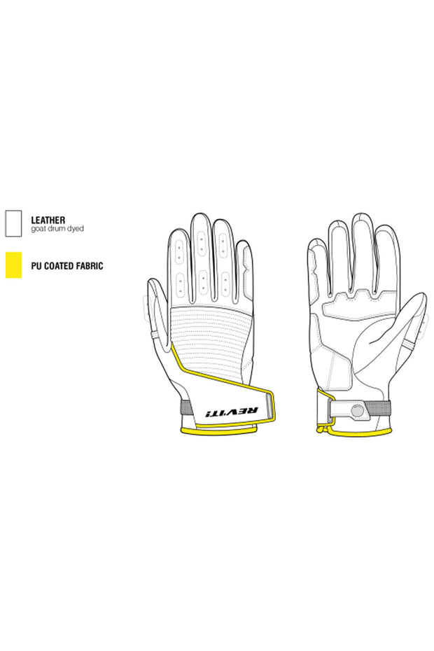 Buy the revit bastille ladies gloves online at Moto Est. Australia 3