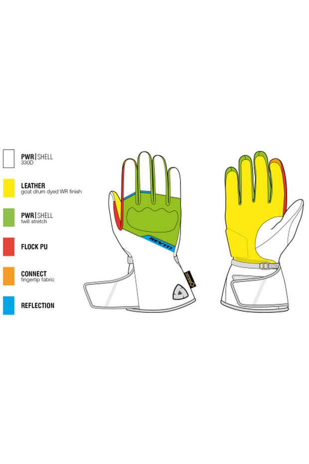 Buy the revit chevak gtx ladies gloves online at Moto Est. Australia 3