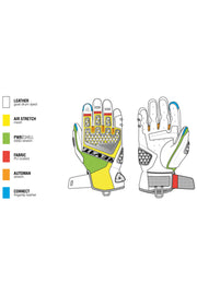Buy the sand 3 gloves black silver online at Moto Est. Australia 3