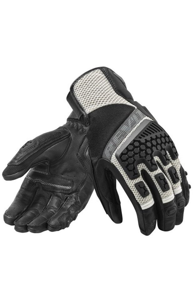 REV'IT! Sand 3 Gloves in Black/Silver online at Moto Est. Australia