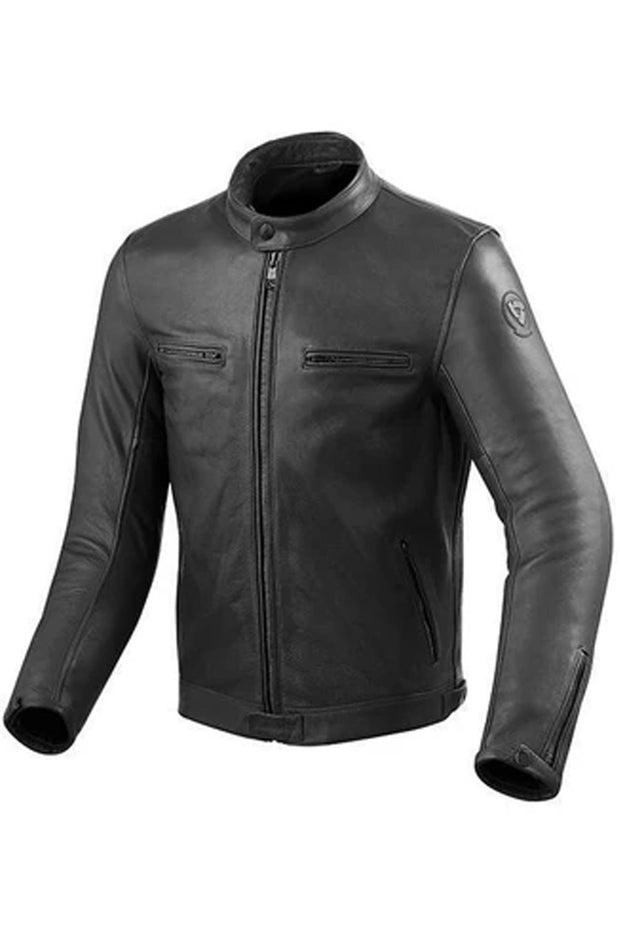 REV'IT! Gibson Men's Leather Jacket in Black online at Moto Est. Australia