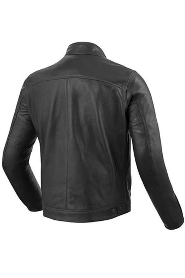Buy the revit gibson mens leather jacket black online at Moto Est. Australia