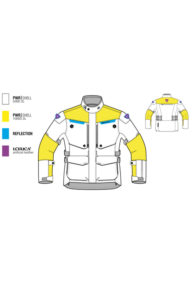 Buy the revit horizon 2 mens jacket online at Moto Est. Australia 3