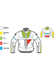Buy the offtrack jacket sand online at Moto Est. Australia 3