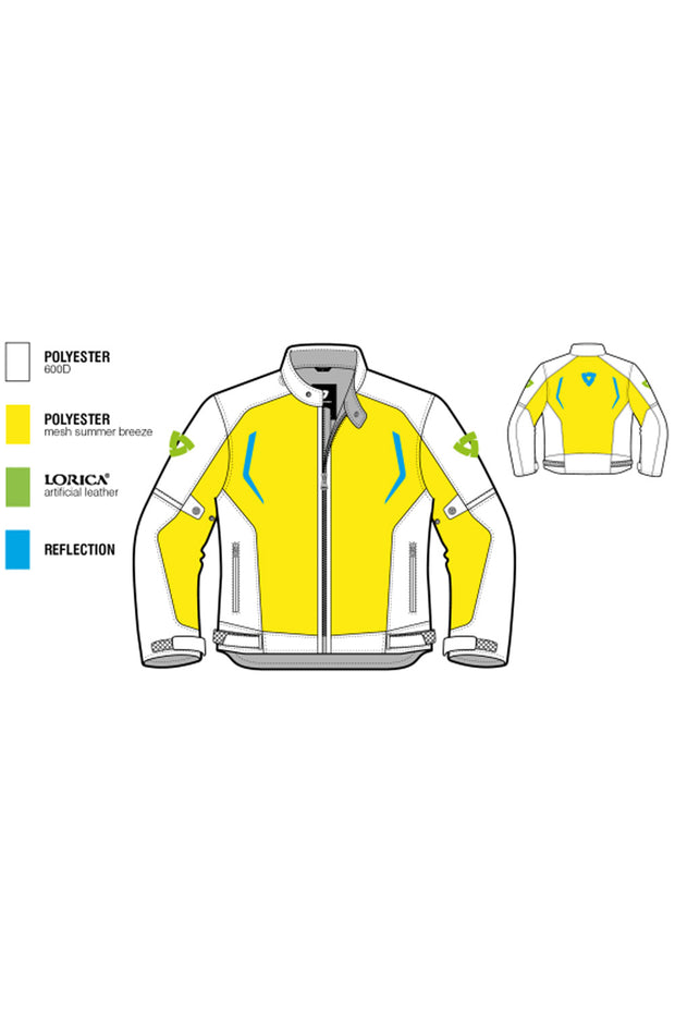 Buy the revit torque mens jacket online at Moto Est. Australia 3