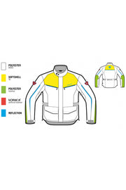 Buy the revit voltiac 2 mens jacket black neon online at Moto Est. Australia 3