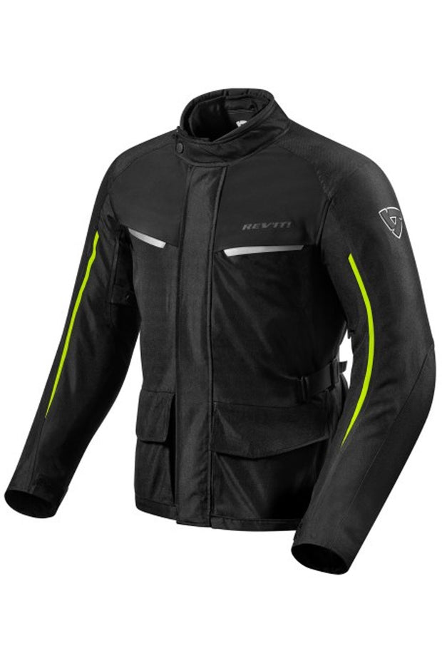 REV'IT! Voltiac 2 Jacket in Black/Neon online at Moto Est. Australia