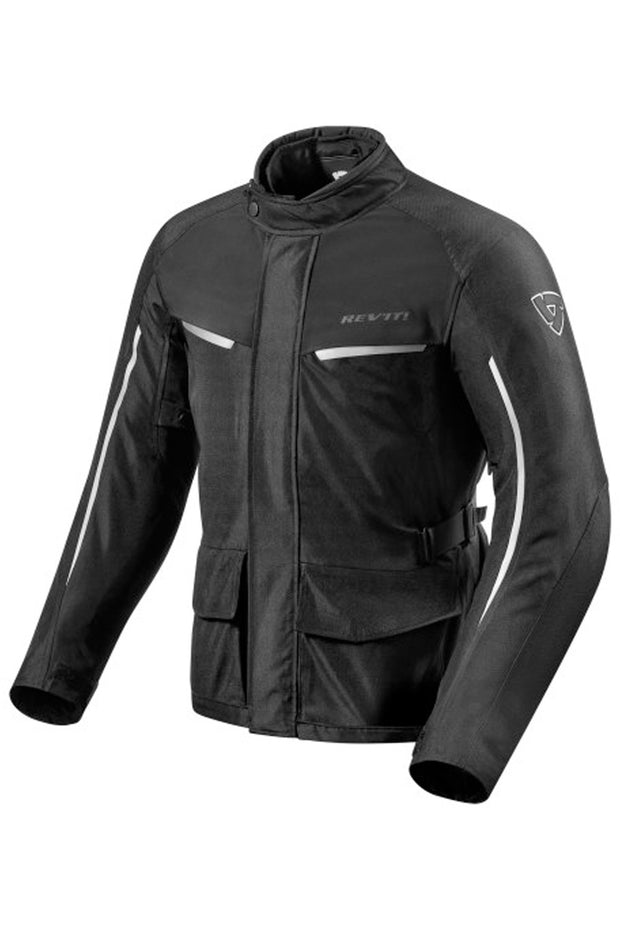 REV'IT! Voltiac 2 Jacket in Black/Silver online at Moto Est. Australia