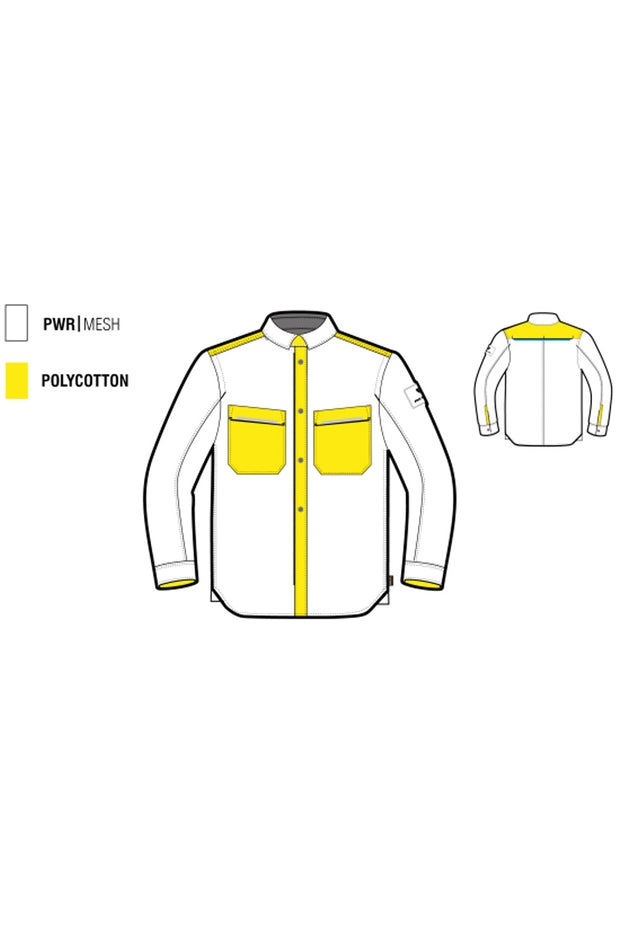 Buy the revit tracer air mens overshirt online at Moto Est. Australia 3