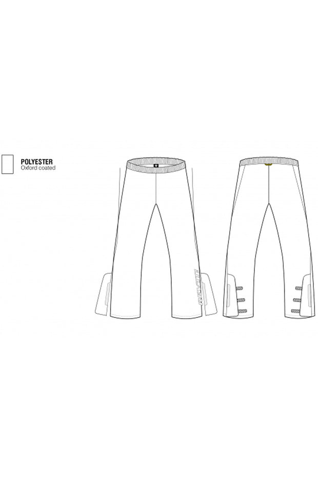 Buy the revit acid h20 rain pants online at Moto Est. Australia 3