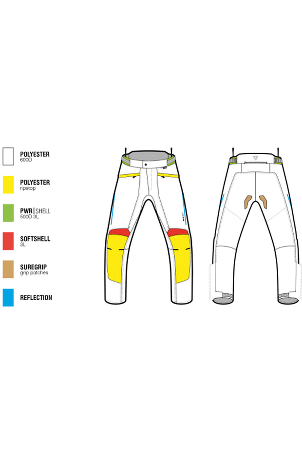 Buy the revit factor 4 mens pants online at Moto Est. Australia 3