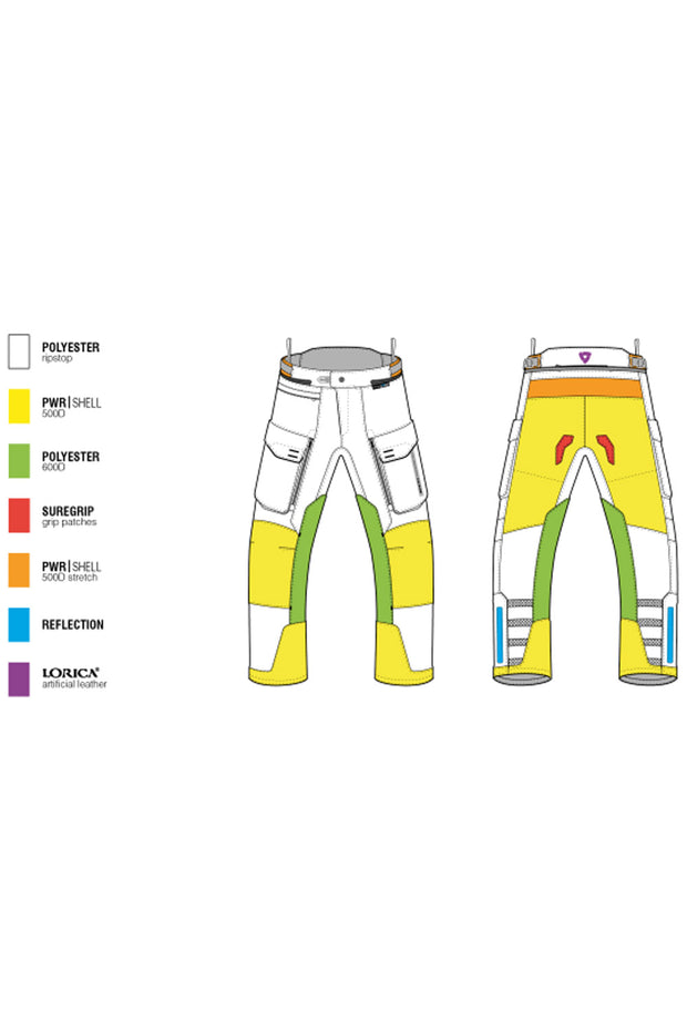 Buy the sand 3 pants silver online at Moto Est. Australia 3