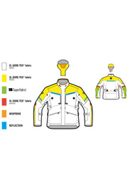 Buy the revit mens poseidon 2 motorcycle jacket online at Moto Est. Australia 3