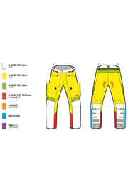 Buy the revit mens poseidon 2 motorcycle pants online at Moto Est. Australia 3