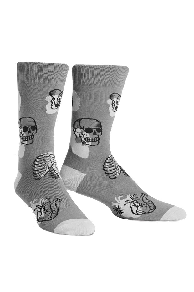 Head Over Heels Men's Crew Socks