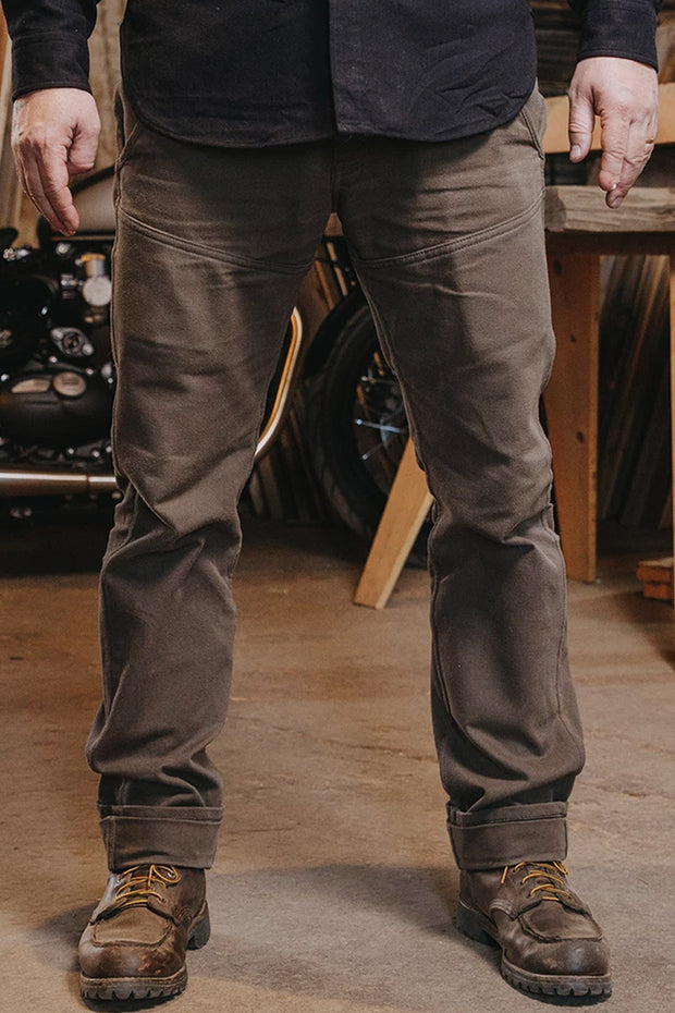 Journeymen Men's Olive Canvas Pants