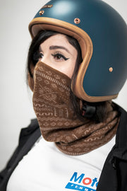 Black Arrow Moto Gear  Motorcycle Cashmere Neck Warmer