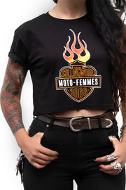 Moto Femmes The MF'ing Crop Tee online at Moto Est. Australia