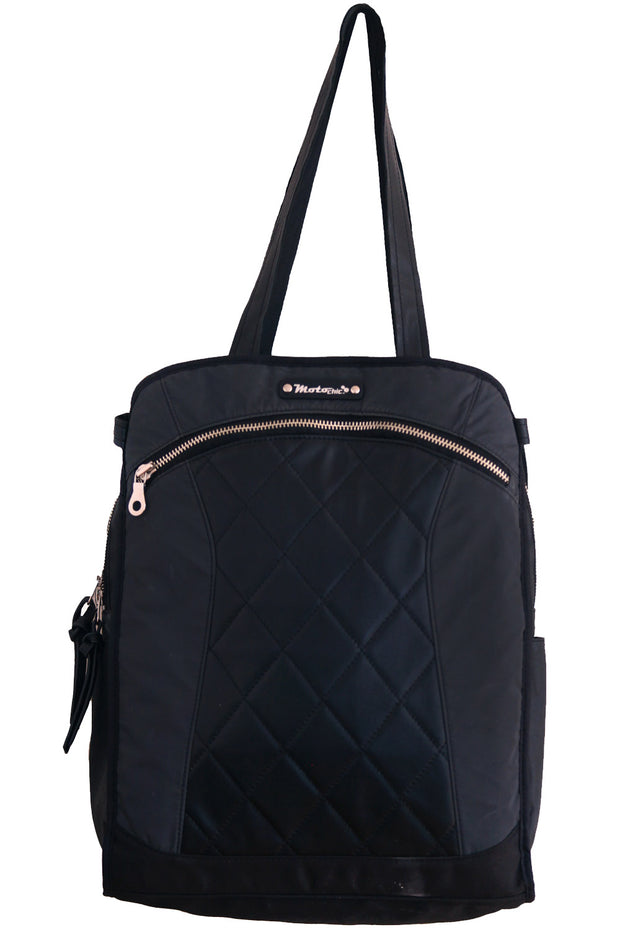 MotoChic Lauren Women's Motorcycle Bag in Black online at Moto Est. Australia