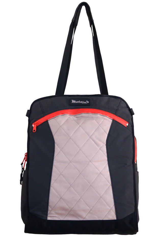 MotoChic Lauren Vegan Sport Women's Motorcycle Bag in Red online at Moto Est. Australia