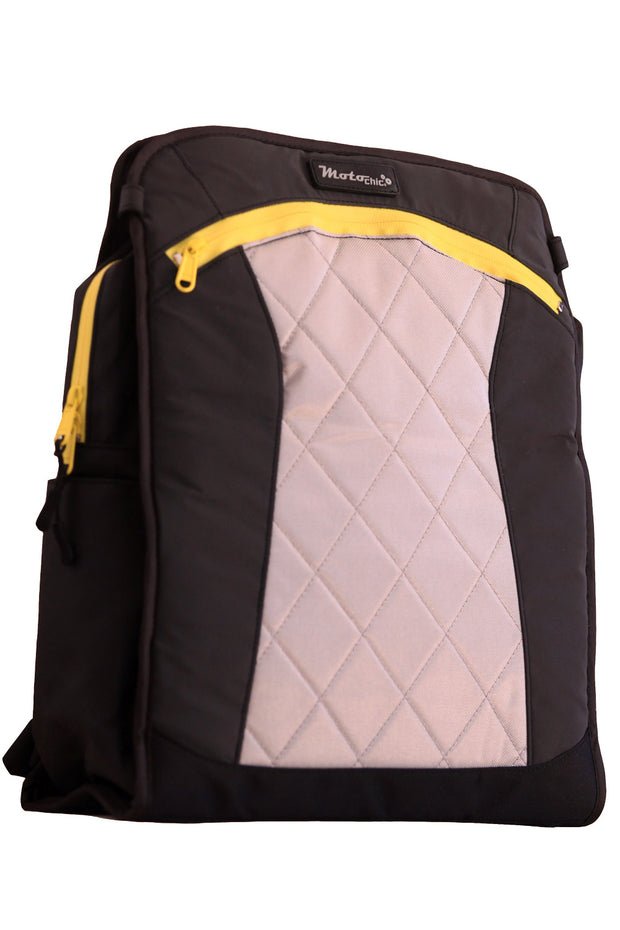 Buy the lauren vegan sport womens motorcycle bag yellow online at Moto Est. Australia 3