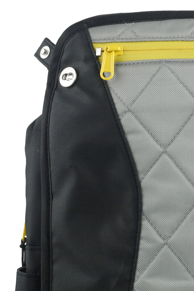 Buy the lauren vegan sport womens motorcycle bag yellow online at Moto Est. Australia 7